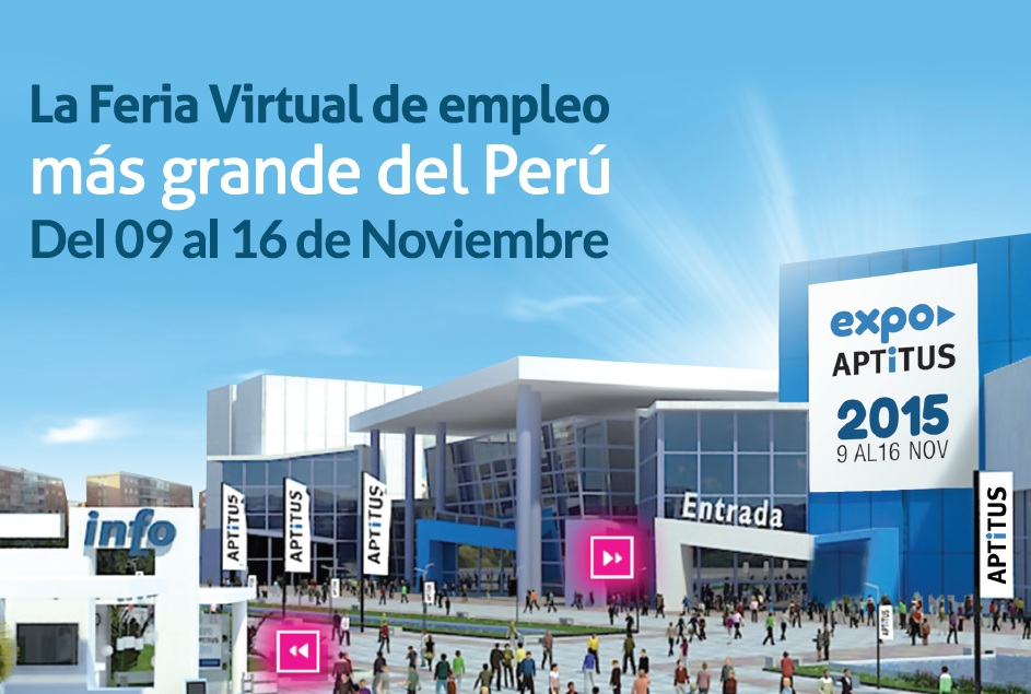 Expoaptitus 2015 la feria virtual de empleo aptitus blog for Ina virtual de empleo