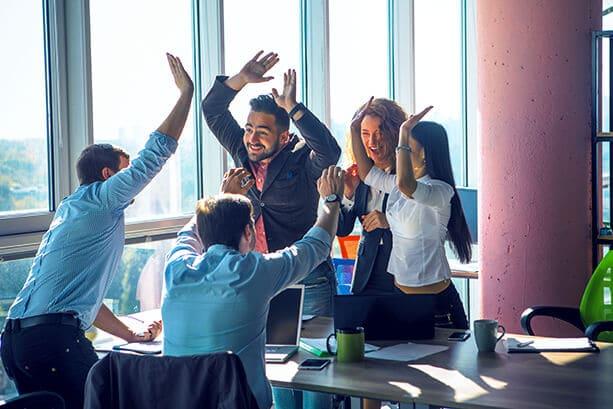 Identifica y controla las personalidades de los compañeros en el trabajo